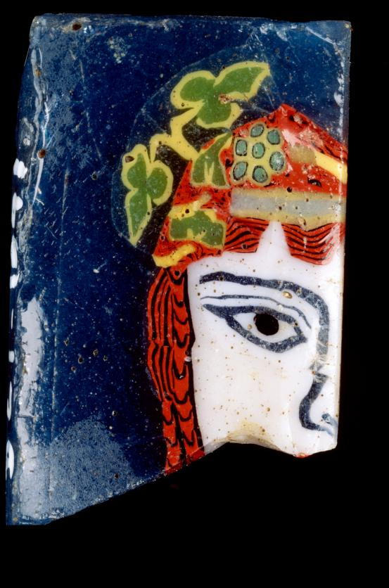 Mask of Maenad, inlay fragment