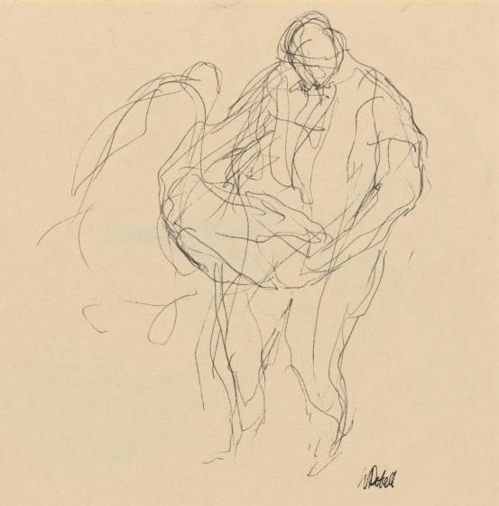 Two men carrying a load