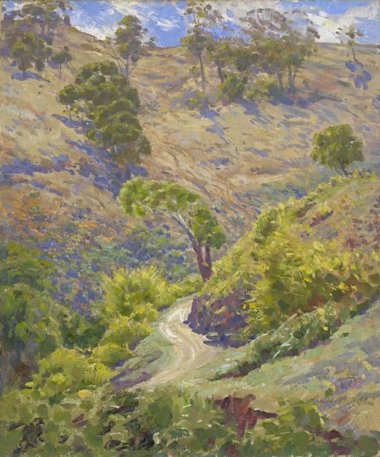 Winding road, Brownhill Creek