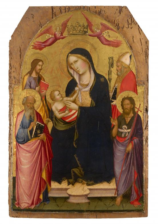 Madonna and Child with St John the Evangelist, St John the Baptist, St James of Compostela and St Nicholas of Bari