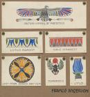 Egyptian motifs: studies for historic ornament