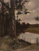 Evening on the Yarra, Eaglemont