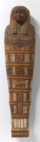 Lid from the inner anthropoid coffin of Iret-[en]-Hor-eru